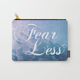 Fearless in a beautiful cloudy sky Carry-All Pouch