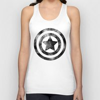 steve rogers Tank Tops featuring Steve Rogers 008 by TheTreasure