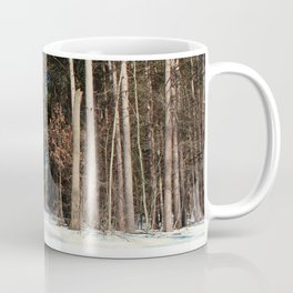 Woods in Winter Coffee Mug