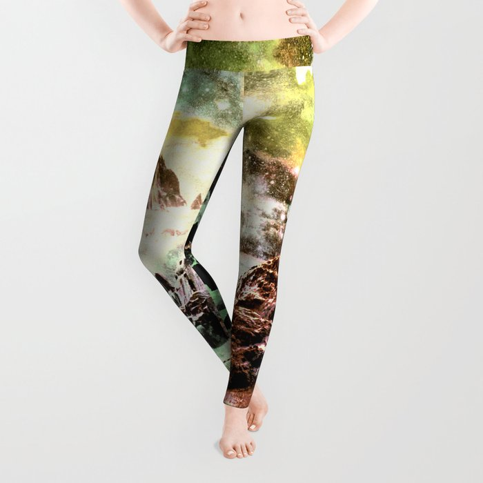 space mountains Leggings