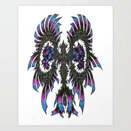 Flauneon Art Print