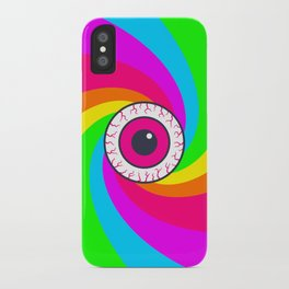 Neon Gaze iPhone Case