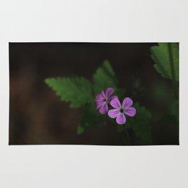 Pretty in Purple Rug