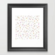 ROSES & MACARONS  Framed Art Print