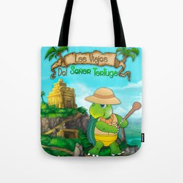 The Adventures of Mr. Turtle Tote Bag