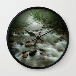 Big Creek, Great Smoky Mountains Wall Clock