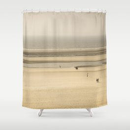 Beach of Le Touquet Paris-plage Shower Curtain