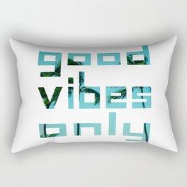 good vibes only // Punta Cana Rectangular Pillow