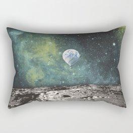 FLOATING THROUGH SPACE Rectangular Pillow