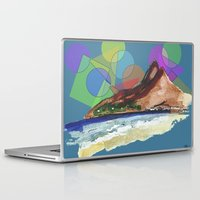 brazil Laptop & iPad Skins featuring Leblon, Brazil by terezamc.