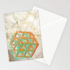 Geometric Grunge One Stationery Cards