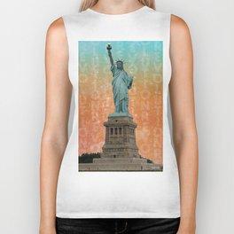 Revolutions - Statue of Liberty Biker Tank