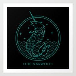 The Narwolf Art Print