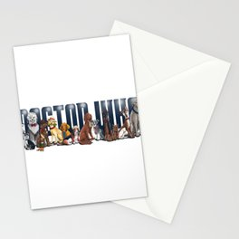 Doctor Who FanArt Dogs Stationery Cards