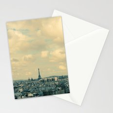 Paris In Blue Stationery Cards