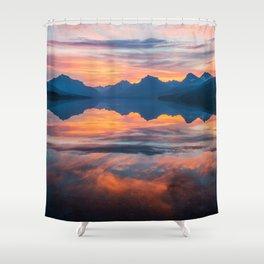 Until Daybreak Comes Shower Curtain