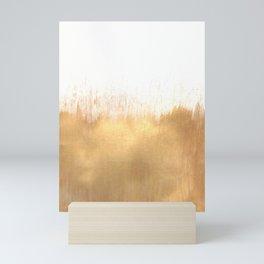 Brushed Gold Mini Art Print