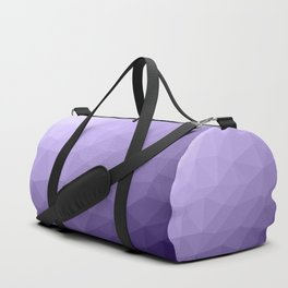 Ultra violet purple geometric mesh Duffle Bag
