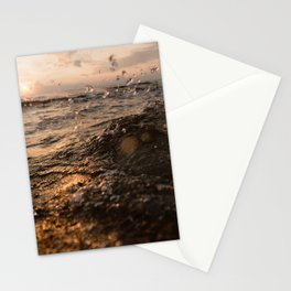 Lake Michigan Wave Stationery Cards