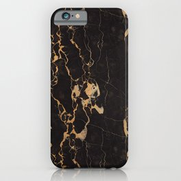 Real Marble Oro iPhone Case