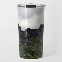 Dimmuborgir Lava Maze in the Mývatn Area of Northeast Iceland (2) Travel Mug