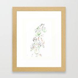 Wild Birds #2 Framed Art Print