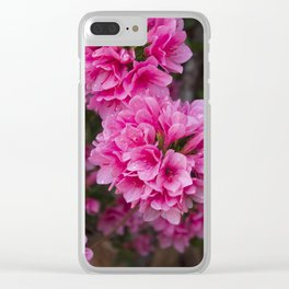 Pretty in Pink Clear iPhone Case