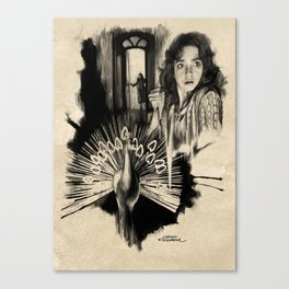 Homage to Suspiria Canvas Print