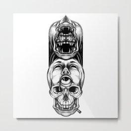 Look Up Metal Print