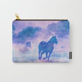 Horses run Carry-All Pouch