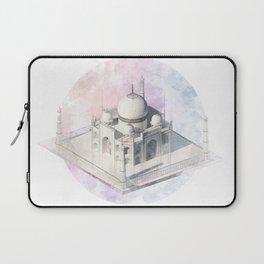 Agra Taj Mahal - axonometric Laptop Sleeve