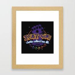 Collect 'em all! Framed Art Print