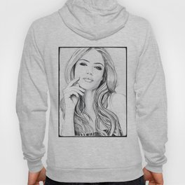 Xenia Tchoumitcheva Portrait of an angel with a frame Hoody