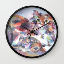 Patch and Stitch, Mama and Baby Wall Clock