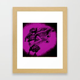 """Women with no faces--series """"Fairy Framed Art Print"""