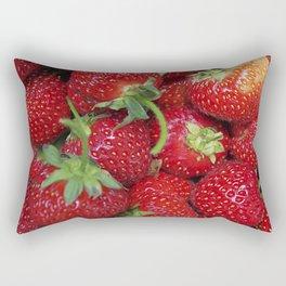 Strawberry Season Rectangular Pillow
