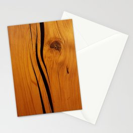 Rustic wooden texture pattern Stationery Cards
