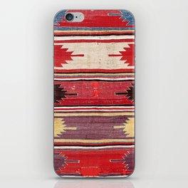 Nevsehir Cappadocian Central Anatolian Kilim Print iPhone Skin