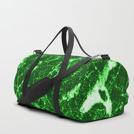 Green Marble Duffle Bag