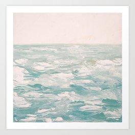 Atlantic Sea Art Print