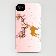 Blooming stag Slim Case iPhone (4, 4s)