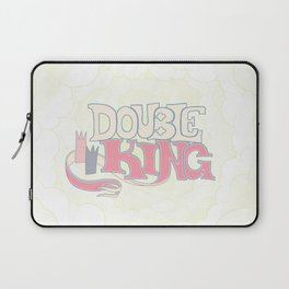 DOUBLE KING: Title Card Laptop Sleeve