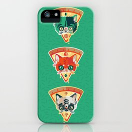 Pizza Slice Cats  iPhone Case