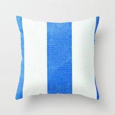 Summer Stripes 3493 Throw Pillow