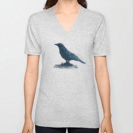 Blue crow Unisex V-Neck