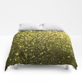 Mosaic Sparkley Texture Gold G188 Comforters