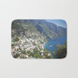 Photo seascape Amalfi Coast Italy Bath Mat