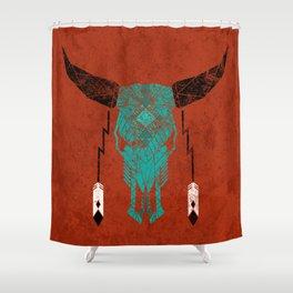 Southwest Skull Shower Curtain