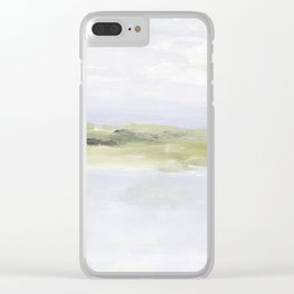 Painting of coastal, beach, ocean Clear iPhone Case