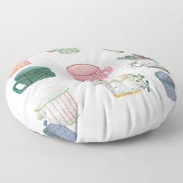 Pattern Cups - Asma Original Floor Pillow